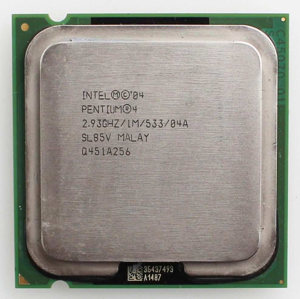 Процессор Intel Pentium 4 515 2.93GHz/1M/533 (SL85V) s775, tray