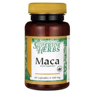 Мака перуанская ПОТЕНЦИЯ+ Maca 500 mg (ЭКСТРАКТ 4:1), 60 капс США