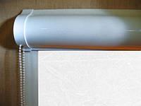 Ролеты тканевые (рулонные шторы) Cream Besta uni закрытый короб, фото 1