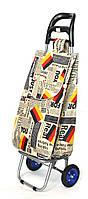 Хозяйственная сумка тележка Xiamen с колесами на подшипниках German flag (0019), фото 1