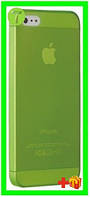 Чехол Ozaki O!coat 0.3 Jelly Green for iPhone 5/5S/SE (OC533GN)