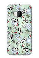 Чехол для HTC One M9 (Коровы)