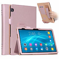 Чехол для Huawei Mediapad T5 10 AGS2-L09 L03 AGS2-W09 W19 10.1 ISIN Premium Leather Case Розовое Золото