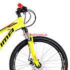 """Горный велосипед  Optimabikes Motion 26 дюймов 13"""" желто-черный с оранжевым, фото 2"""