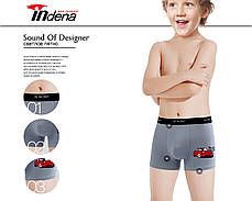 Подростковые стрейчевые трусы шорты  на мальчика Марка «IN.INCONT»  Арт.8606, фото 3
