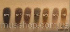 Тени для бровей Golden Rose Eyebrow Powder Тон ТОН 104 - ДЫМЧАТЫЙ КОРИЧНЕВЫЙ, фото 3