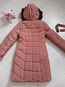 Детский пуховик пальто зимнее на девочку размеры 40,  42, фото 7