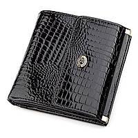 Кошелек женский ST Leather 18357 (S1101A) компактный Черный, Черный, фото 1