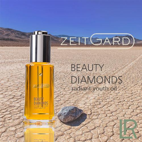 LR Zeitgard Beauty Diamonds LR Роскошное масло для тела с три-комплексом - сияние молодости 30 мл