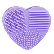 """Силіконова щіточка для чистки кистей BrushEgg """"Серце"""""""