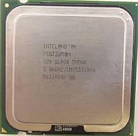 Процессор Intel Pentium 4 524 3.06GHz/1M/533 (SL9CA) s775, tray
