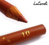 Карандаш для губ LaCordi DE LUXE №10 Пастель