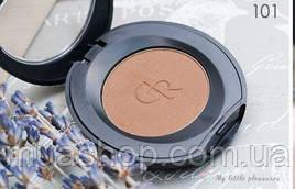 Тени для бровей Golden Rose Eyebrow Powder Тон 101 - СРЕДНИЙ ТОН, ОРЕХОВЫЙ ОТТЕНОК