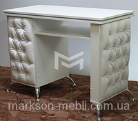 Стол маникюрный белый М132
