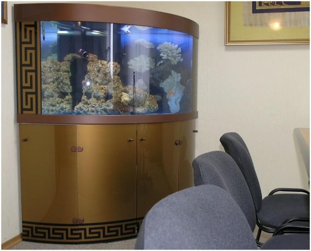 Подставки для аквариумов на основе металлокаркаса
