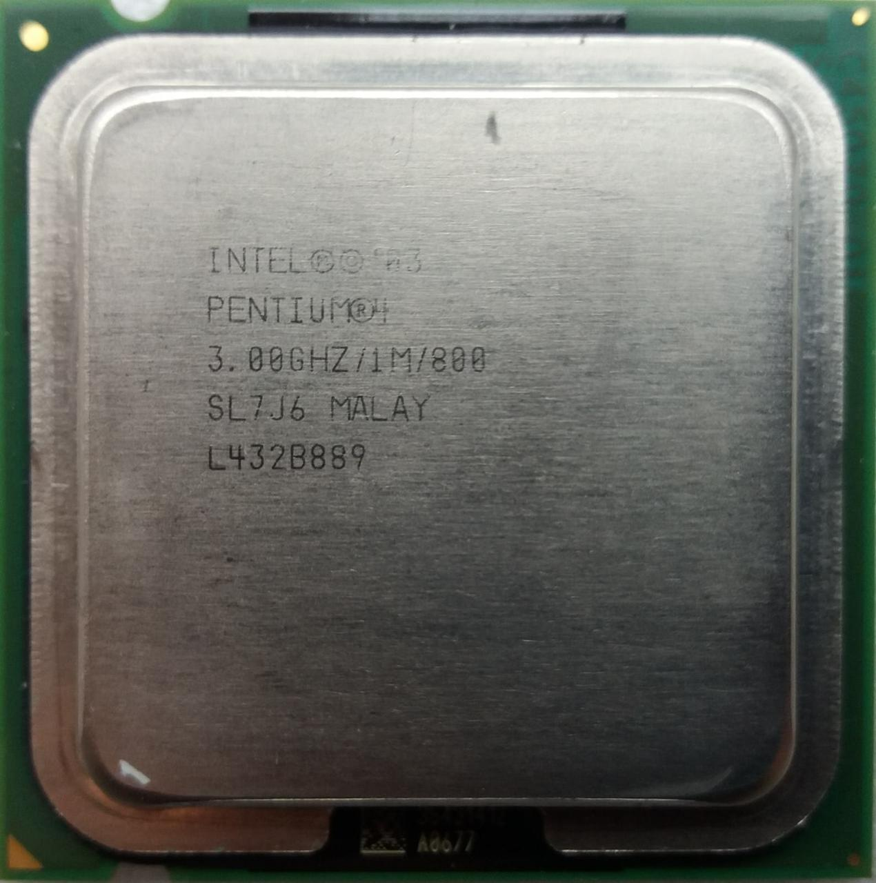 Процессор Intel Pentium 4 530 3.00GHz/1M/800 (SL7J6) s775, tray