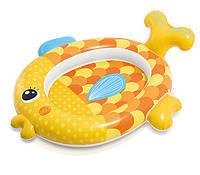 "Надувний басейн Intex - ""Золота рибка"" 140х124х34 см, (57111)"