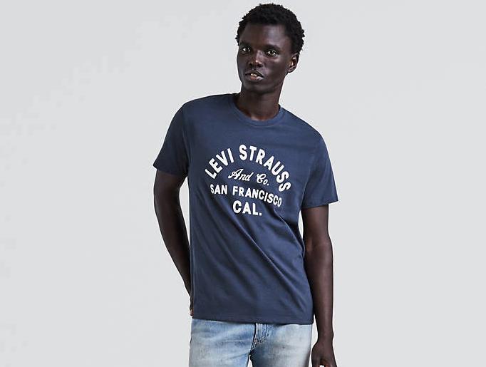 Мужская футболка Levis®  Classic Graphic Tee- Dress Blues