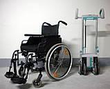 Мобильный лестничный подъемник колесного типа Alber Scalamobil S25 с Ультра Легкой Инвалидной Коляской, фото 3