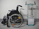 Мобильный лестничный подъемник колесного типа Alber Scalamobil S25 с Ультра Легкой Инвалидной Коляской, фото 4