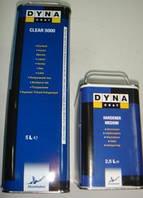 Автомобільний лак DYNACOAT 5000 HS 2K акриловий безбарвний 2 + 1 5л. + затверджувач 2,5 л.