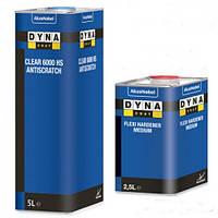 Автомобильный лак DYNACOAT 6000 HS 2K акриловый бесцветный 2 + 1 1л. + отвердитель 0,5 л.