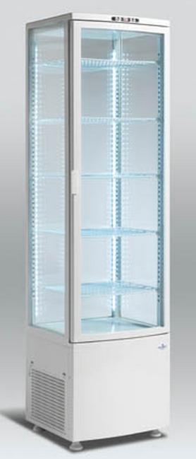 Прозрачный холодильник Scan RTC 286