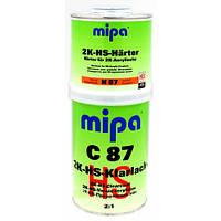 Автомобильный лак MIPA НS-Klarlack C87 2К бесцветный 2 + 1 1л. + отвердитель 0,5 л.