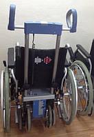 Лестничный подъемник колесного типа Scalamobil S25 с Инвалидной Коляской B+B