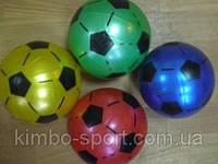 Мячик игровой с футбольным рисунком. Диаметр - 18 см. Вес - 75 грамм.