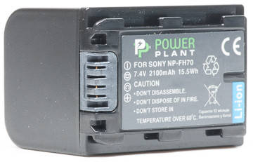 Aккумулятор PowerPlant Sony NP-FH70 2100mAh, фото 2