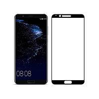 Защитное стекло Full screen PowerPlant для Huawei Honor View 10 (V10) Black