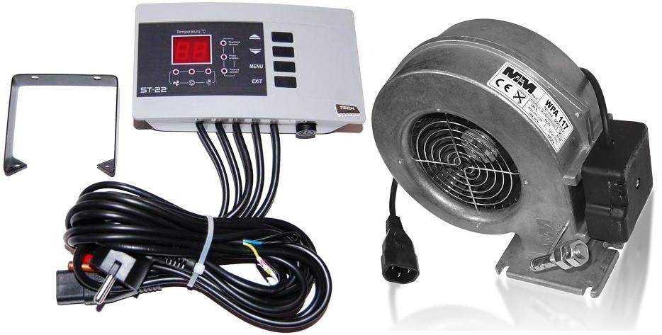 Автоматика Tech ST-22 Sigma + вентилятор WPA120