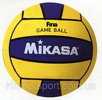 Мяч для водного поло MIKASA W6009C (№4 женский, резина)