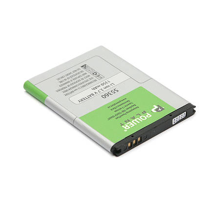 Аккумулятор PowerPlant Samsung S5360 (EB454357VA) 1350mAh, фото 2