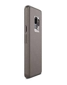 Чехол Patchworks Mono Grip для Samsung Galaxy S9, серо-коричневый