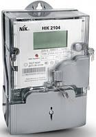 Электросчетчик НIК 2104-02.40ТВ.Е1 системный 5-60А PLC-модуль однофазный многотарифный с одним изм.элементом