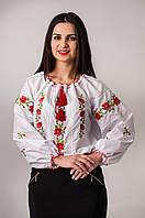 """Оригинальная  женская блуза """"Кристинка"""" по 56 размер."""