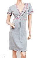 Сорочка женская ночная рубашка S|M|L KOSZULKA MUZZY 402 Белье для беременных и кормящих Польша
