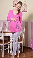 Пижама женская S|M|L|XL PIŻAMA TARO 782 DOMINIKA Белье для беременных и кормящих Польша