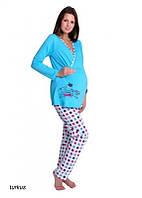 Пижама женская S|L|XL PIŻAMA TARO 707 MAMA Белье для беременных и кормящих Польша