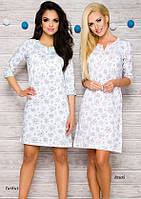 Сорочка женская ночная рубашка M|L KOSZULKA TARO 2123 FABIA AW17 Белье для беременных и кормящих Польша