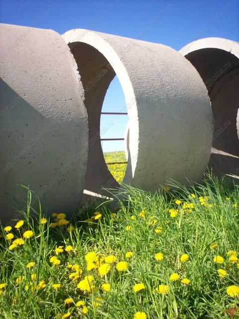 Кольца бетонные канализационные. (12)