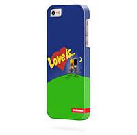 Чехол для iPhone 5/5s Любовь это...