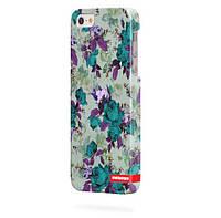 Чехол для iPhone 5/5s Пестрые розы