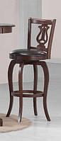 """Барный стул """"Моцарт"""" из натурального дерева."""