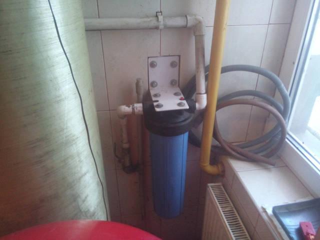 ВВ-20 с углем для корректировки вкуса и запаха очищенной воды