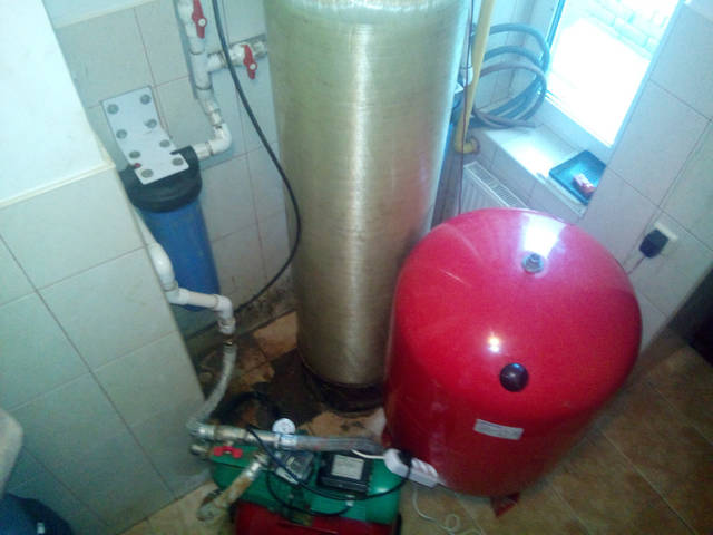 Техническое помещение для обеспечения дома чистой водой