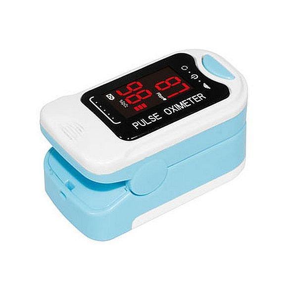 Портативний пульсоксиметр на палець для вимірювання сатурації кисню і частоти пульсу Bl-230b