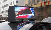 Светодиодная видеореклама для элитного такси, загрузка медиа-контента через 3G